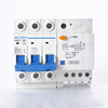 DZ47LE 3P+N 10A 16A 25A 32A 60A Residual current Circuit breaker RCBO with over current and Leakage protection RCCB ELCB