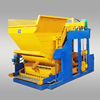 QMY12-15 full automatic mobile cement block making machine