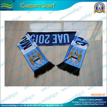 customized spandex knitted polyester scarf