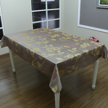 flower design polyester table cloth