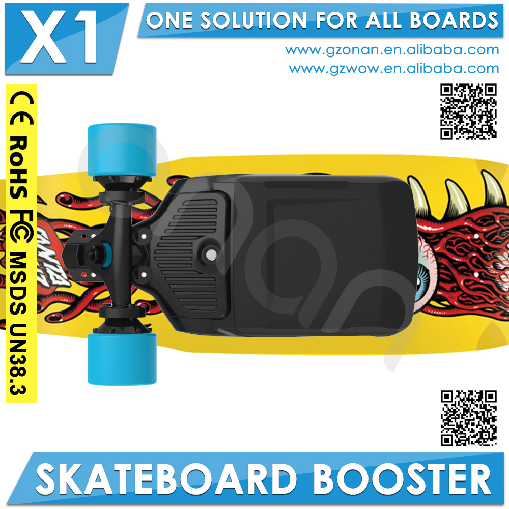 Best gift DIY motorized skateboard