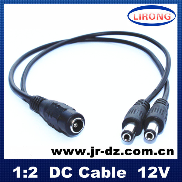dc power cable 5.5*2.1mm connector