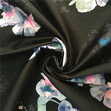 Custom print cotton fabric wholesale printed sateen bedding fabric