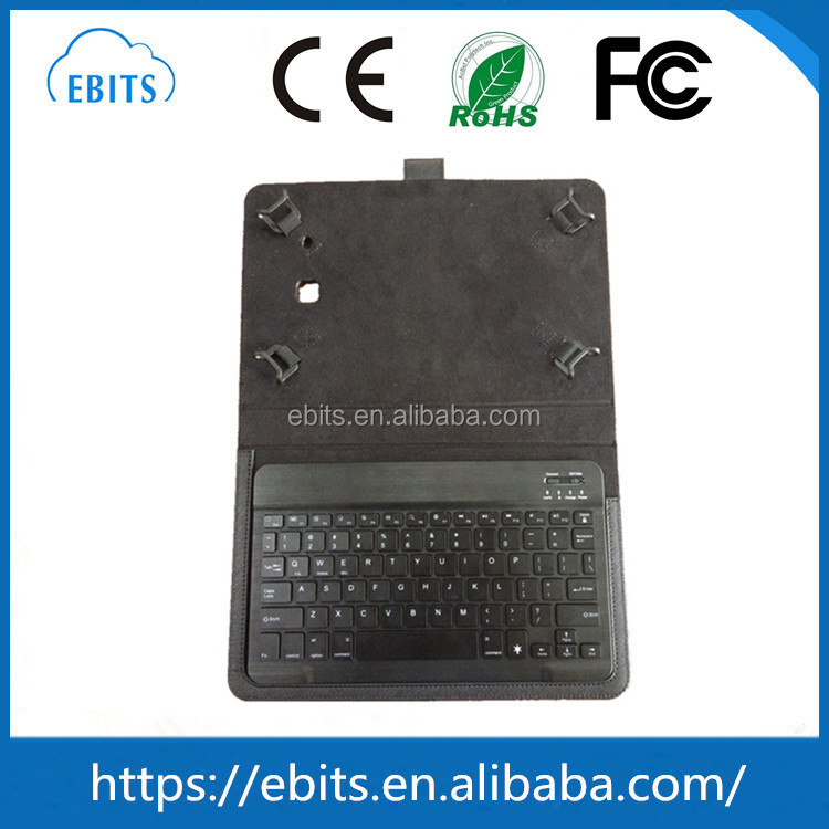 Best Price slide wireless bluetooth keyboard leather case for samsung Tab E 9.6 T560 T561