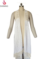 Ladies Knitted Cheap cardigan women casual knitted handmade crochete vest
