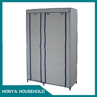 2015 Hottest Diy Plastic Easy Clothes Garment Storage Portable Wardrobe Organizer Closet Rack New