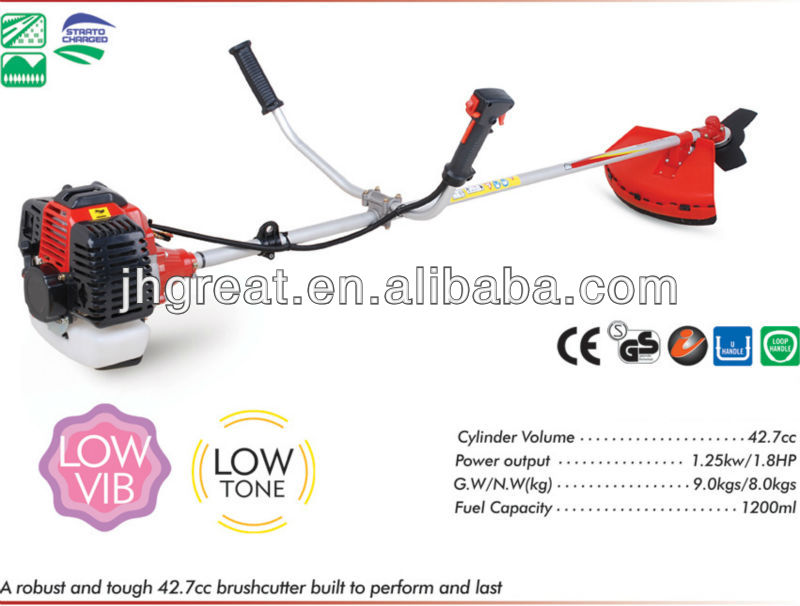 manufacturer exporter for brush cutter chain saw etc garden tool 34CC/43CC/49CC/52cc engine half cut