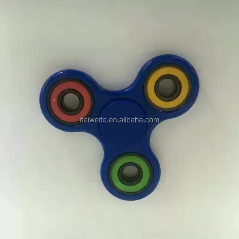 High Quality Colorful Hand Spinner 608 RS Bearing Finger Fidget Spinner Toy Full Or Hybird Ceramic Bearing