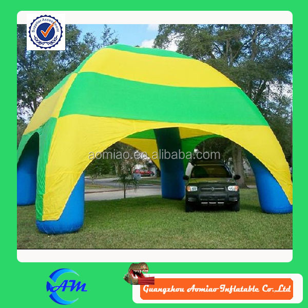 Top quality inflatable hail proof car cover tent, inflatable canopy / tent for sale