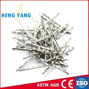 Cut Sheet Steel Fiber for Concrete Reinforcement