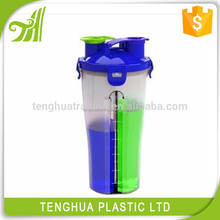custom tritan plastic fruit infuser two part water bottle