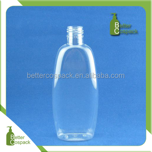 200ml clear plastic baby shampoo bottle and carry-on bottle.