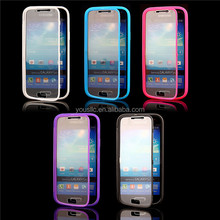 TPU Screen Wallet Touch Case Phone Case For Samaung Galaxy s4 mini i9190