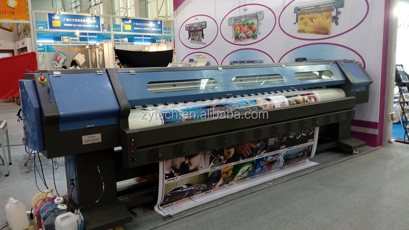 3.2m flex banner outdoor advertisement solvent printer JHF