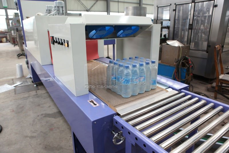 Bottle Shrink Wrap Packing Machine And Line