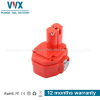 14.4V 1.3Ah The Best Quality Red Power Tool Battery for MAKITA NI-CD