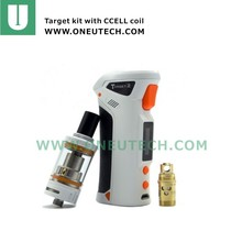 no spitting Self-Cleaning cCELL Coil Vaporesso Target 2 Full kit with 75W VT/VW Box Mod starter kit