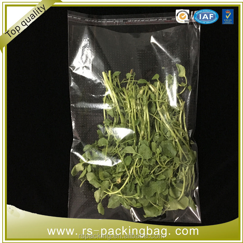 microporous bags flowers, fresh fruit and vegetable bags Agricultural product packaging