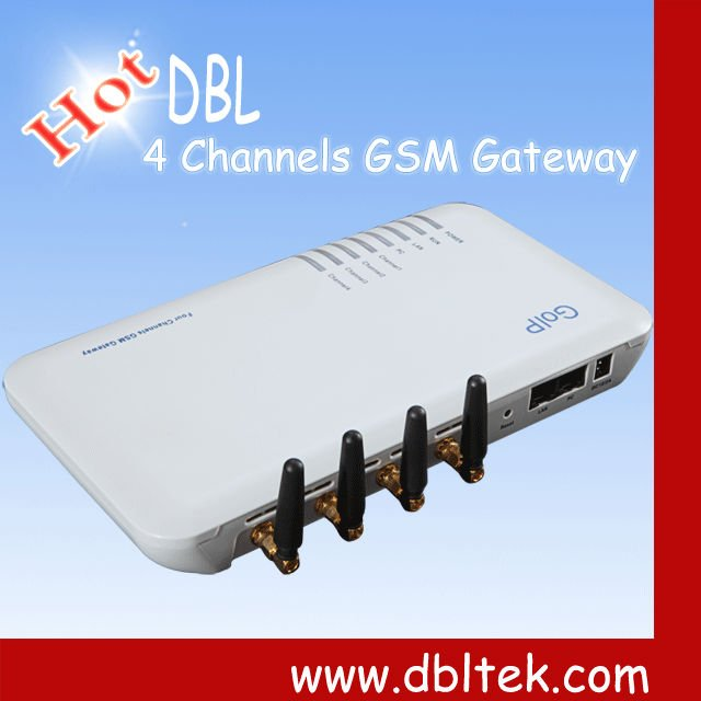 4-Channels Voip Gsm Gateway