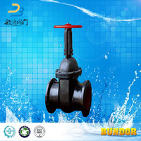 High Quality Non-rising Ductile Iron Russia standard Worm Gear Gate Valve Prices