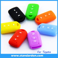 silicone car key for toyota 14 paragraph vois camry remote car key