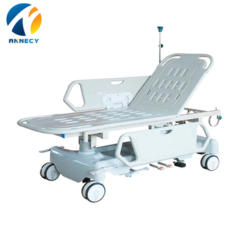 AC-ST012 medical devices bi-hydraulic medical equipment stretcher trolley sizes for sale