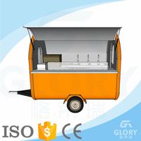 High Quality With Wholesale Price/Fry Ice Cream Machine Cart / Kiosk Coffee Display Cart