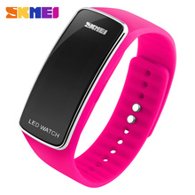 SKMEI 1119 Trend Design Digital Sport Silicone LED Watches Waterproof