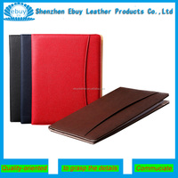 A4 Meeting/Conference Folder, Handmade PU Leather Document File Folder