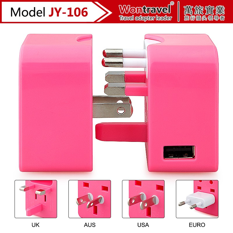 New Model Travel AdaptorCharger/Universal adapter plug for Mobile Phone
