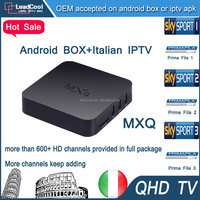 Android Media Player Android Box MXQ With Three Months Qhdtv Iptv Account Including Over 640 Channels China Wholesale