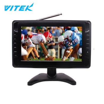 VTEX 7 9 inch OEM Portable ATSC dc solar outdoor hd led big tv,10 inch led tv price in india