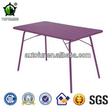Good Quality Antique Effect Outdoor Folding Metal Tables