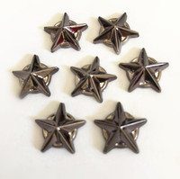 high quality star shape plastic rivets for decoration