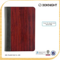 2015 new wood smart case for iPad Mini 2/3