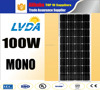2016 MONO solar panel PV module/cheap mono price /high technology mono solar panel 100w for home solar systems CE certificate