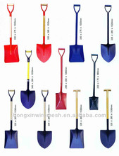 high quality shovel with handle for agriculture