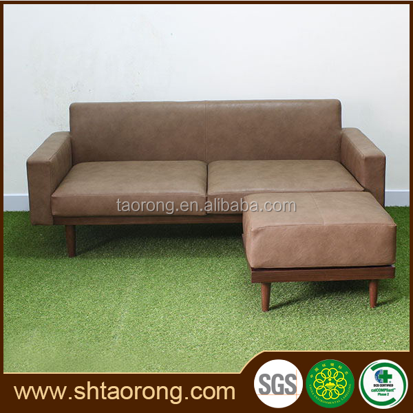 custom made modern style latest design leather sofa for living room