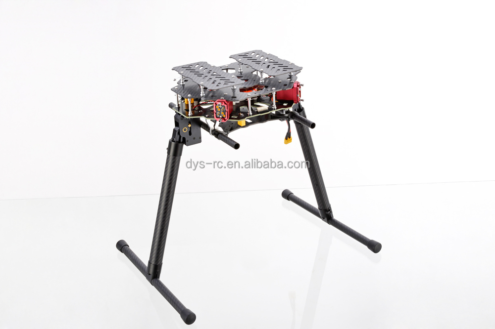 DYS High-end Octocopter D800-X8 take-off weight 4-10kg with Retractable Landing Gear for larger gimbal and cameras