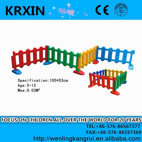 colorful Kids Play Fence Indoor for small child