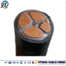 underground electrical armoured cable 4 core 95mm China factory power cable