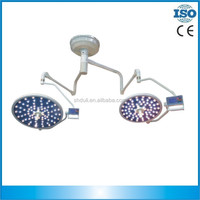 double dome ceiling surgical led ot light