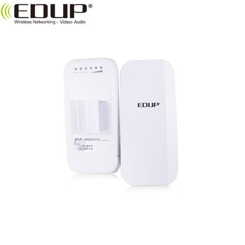 Home Router CPE 1KM Long Range 300Mbps WiFi Bridge Outdoor CPE With Built-in Antennas