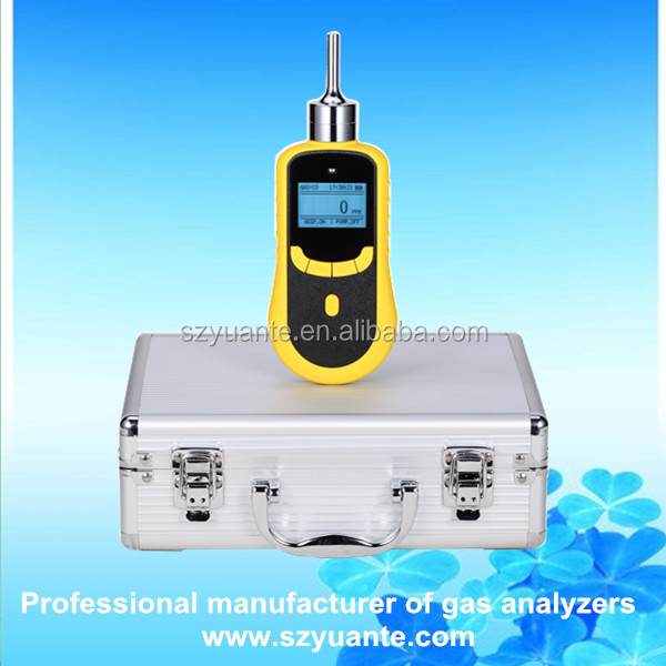 Handheld toxic C3H3N Acrylonitrile gas detector for chemical plant safety control