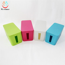 Hot sale plastic electric wire storage organizer container box for home