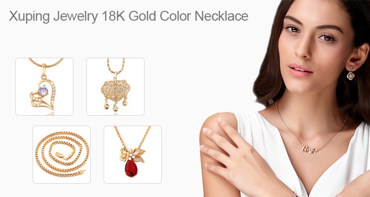 44216 vogue 18k gold-plated models silk thread necklace city gold jewellery online shopping wholesale