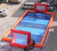 China manufacturer inflatable soccer water pool with good quality WP12
