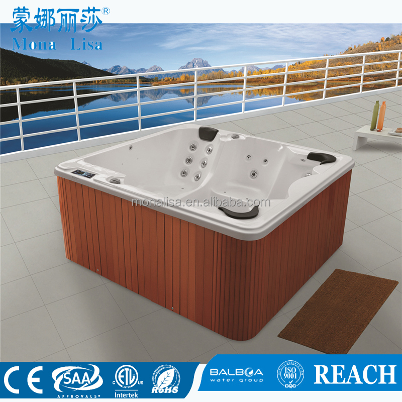 round shape hot tub Monalisa Acrylic Round Hot Tub m-3312