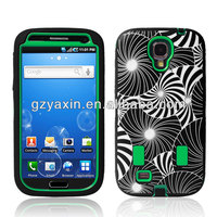 Silicone combo case for samsung s4 galaxy i9500,silicon case cover for samsung galaxy s4