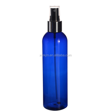 New arrive 250ml blue cosmetic toner mist sprayer pet bottle